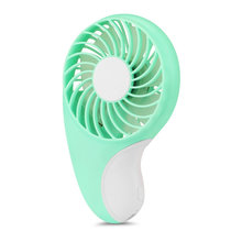 Small Pocket Personal Mini Fan with 2-Speed Portable Hand Fan Electric USB Rechargeable Battery Operated Cooling Fan for Outdoor(China)