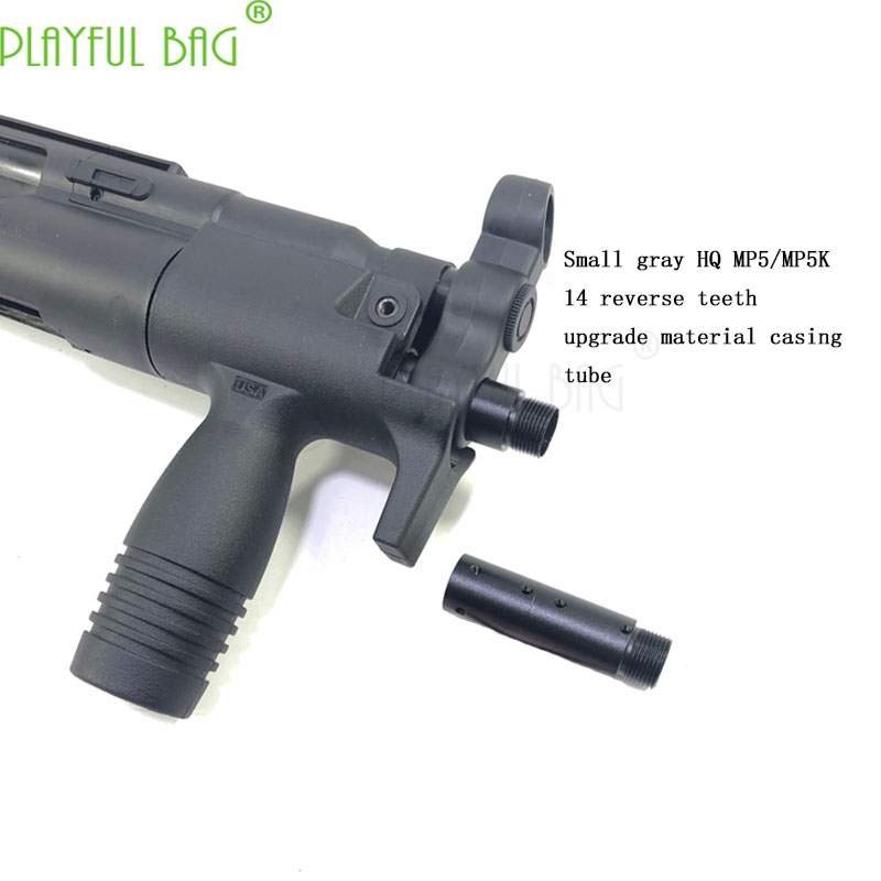 Outdoor Activity CS HQ Small Ash Industry MP5K MP5 14 Upgrade Material Casing Toy Water Bullet Gun Refitting Parts PI38