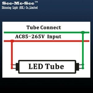 Image 5 - 20 adet/grup 4ft 5ft 1200MM 1500MM 20W 24W 28W AC85 265V yüksek lümen yüksek parlaklık t8 led tüp