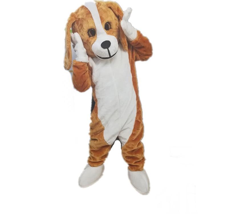 2018 High quality beagle mascot costume adult size factory custom dog mascot costume
