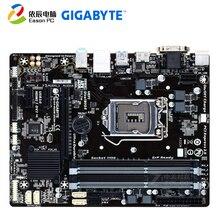 GIGABYTE GA-B85M-DS3H-A desktop motherboard LGA1150 DDR3 i3 i5 i7 USB3.0 Micro-ATX free shipping original motherboard for gigabyte ga p55 s3 lga 1156 ddr3 p55 s3 16gb for i3 i5 i7 usb2 0 h55 desktop motherboard