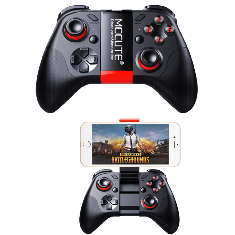 Mocute 054/050 Bluetooth Gamepad Mobile Joypad Android Joystick Wireless VR Controller Smartphone Tablet PC Phone Smart TV Game smartphone