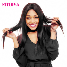 Mydiva Brazilian Straight Hair Bundle 100% Remy Human Hair Weave 10-28 Inch Natural Color Free Shipping