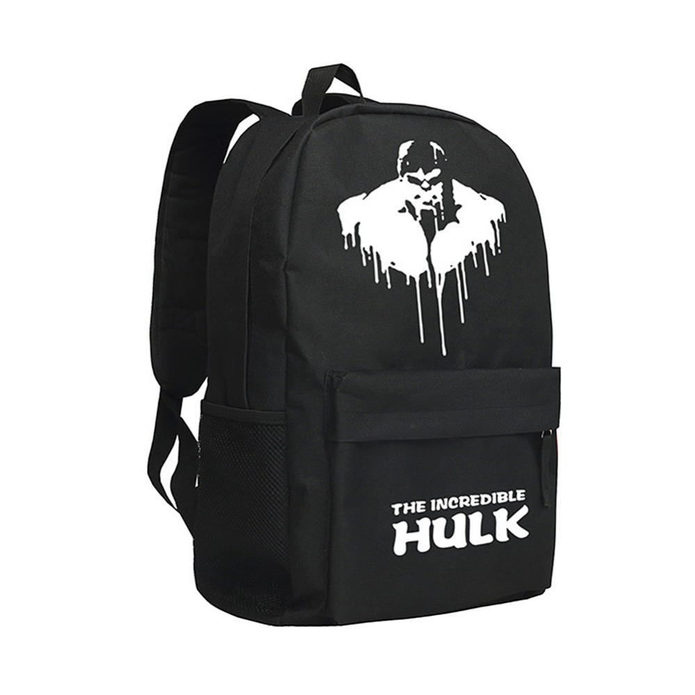 MeanCat America Hero Figures The Hulk School Bags LOL Green Giant Backpack holyoops the hulk green giant fist metal mechanical keyboard keycap