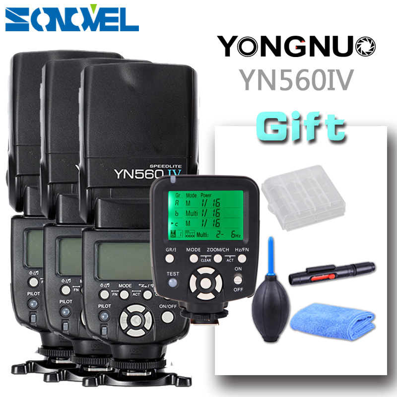 Yongnuo YN560-TX 2.4G Wireless Trigger Controller + 3pcs Flash YN560IV Speedlite YN-560 IV Diffuser for Camera DSLR Canon Nikon yongnuo yn685 yn 685 беспроводной доступ в эти speedlite флэш построить в ttl приемник работает с yn622c yn622ii c yn622c tx yn560iv yn560 tx
