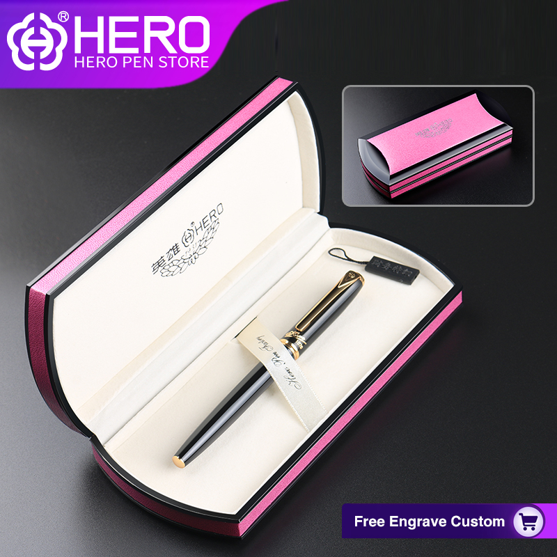 Hero Fountain Pens Original Authentic Writing Supplies High Quality Luxury Iraurita 0.5mm Smoothly Writing Pens 1079 authentic luxury