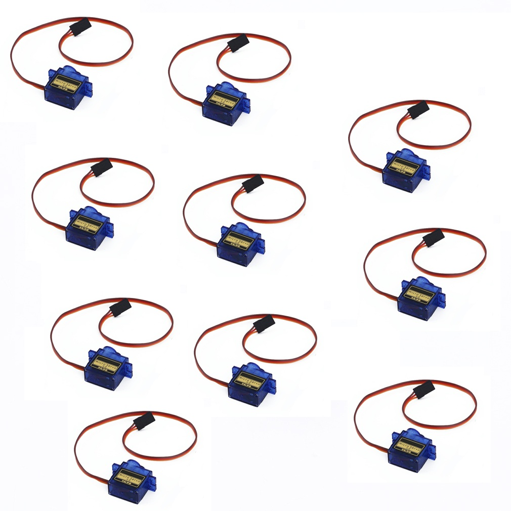 10pcs/lot QYWWRC SG90 9g Mini Micro Servo for RC for RC 250 450 Helicopter Airplane Car Drop Free Shippping