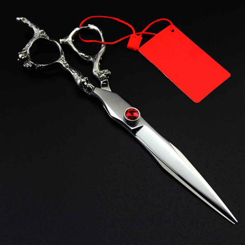 Upscale Professional Japan 7 Inch Shears Dragon Pet Dog Grooming Hair Scissors Cutting Haircut Berber Cut Hairdressing Scissors