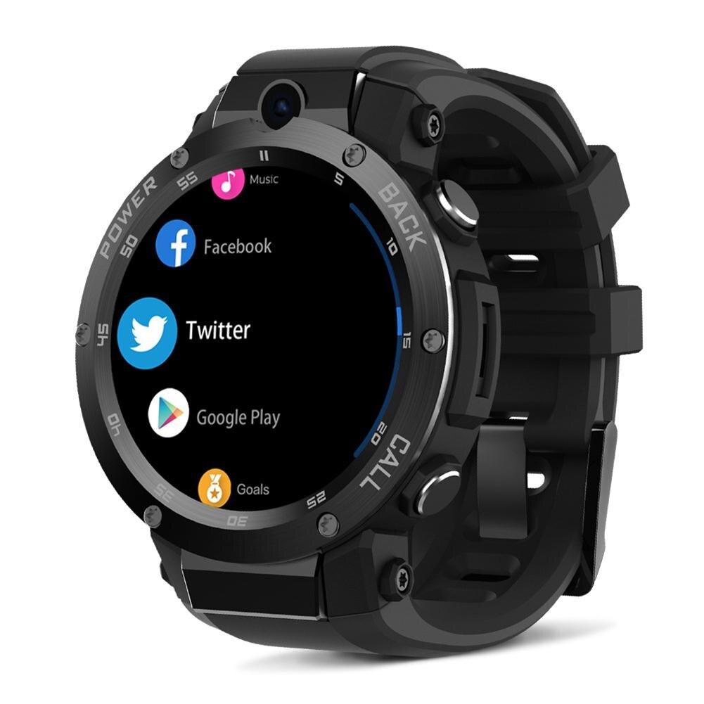 Новые 3G gps Smartwatch 1,39 дюйма Android 5,1 MTK6580 1,0 ГГц 1 ГБ + 16 ГБ Смарт часы BT 4,0 носимых устройств