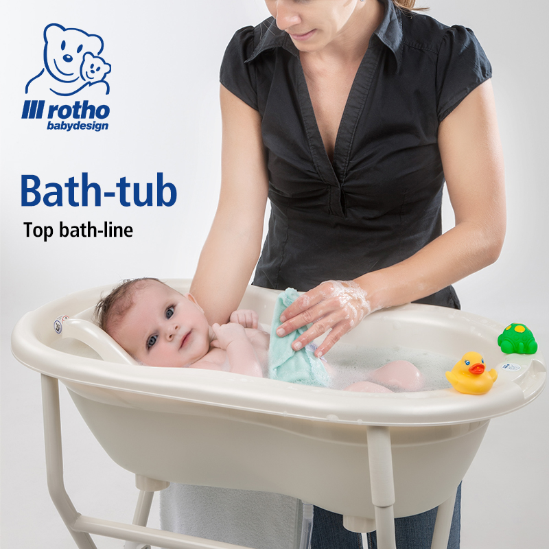 rotho babydesign 2017hot sale baby bath tubs germany kids bath seat with lying plate child kid. Black Bedroom Furniture Sets. Home Design Ideas