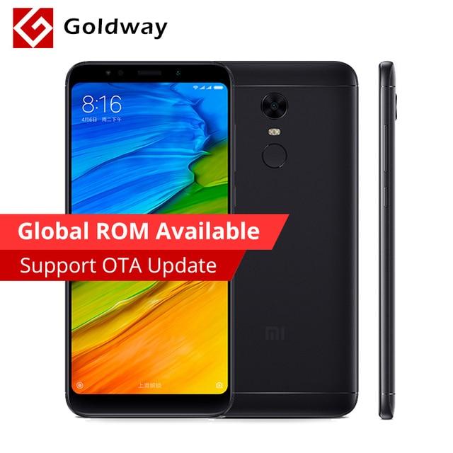 """Оригинальный Xiaomi Redmi 5 плюс 3 ГБ Оперативная память 32 ГБ Встроенная память мобильного телефона Snapdragon 625 Octa core 5.99 """"18:9 полный Экран 4000 мАч Батарея"""