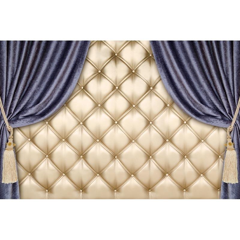 barroco bed cabeceira tufos cama de contexto da fotografia vinil fino photo studio fundo papel de
