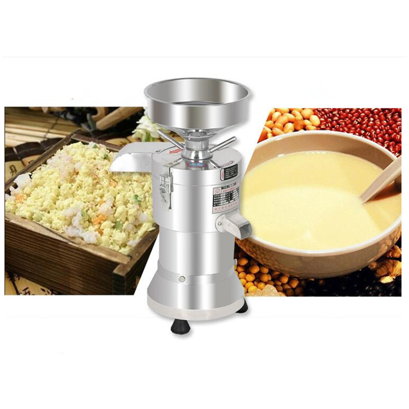 220V 20KG/H Commercial Stainless Steel Soybean Milk Maker Automatic Bean Dregs And Soybean Milk Separation Fiberizer 220v 550w top quality soybean peeling peeler bean machine bean rice production 100 125kg h automatic stainless steel peeling