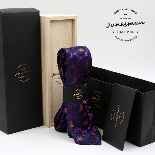 2016 цветок печати деловых галстук мужчины цветочный kravat мужской свадьба галстуки гент mariage шеи галстук муж подарок с коробкой