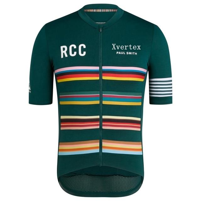Ropa Ciclismo 2019 Pro team Rcc X PAUL SMITH road bike Short sleeve wear Summer cycling Jersey for men Mountain Bike Sweatshirt