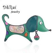Cute Dog Brooch for Kids Girls Enamel Zinc Alloy Cartoon Animal Brooches Pins Stranger Things 2019 Best-selling Jewelry Pin цена