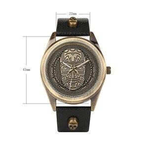 Image 3 - นาฬิกาผู้ชายกันน้ำนาฬิกาข้อมือควอตซ์ Punk สไตล์ซิปกระเป๋าสตางค์คริสต์มาสชุดของขวัญสำหรับสามีสำหรับพ่อ