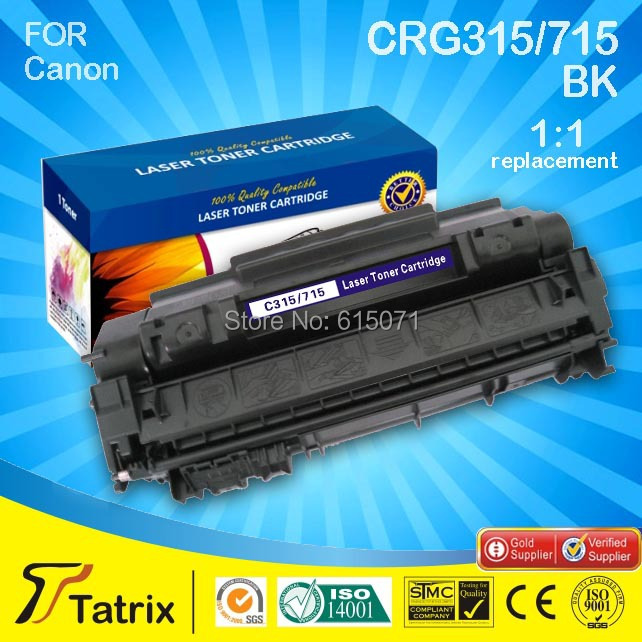 ФОТО CRG315/715 Toner Cartridge with chip Top Rate good Quality Use For Canon Laser Printer , free shipping