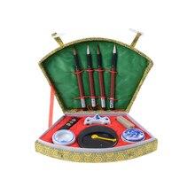 10 товаров Китайская каллиграфия и кисть кандзи Суми набор (базовый) каллиграфия, подходит для начинающих и коллектором