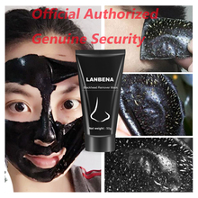 LANBENA Blackhead Remover Facial Masks Deep Cleansing Purifying  Skin Care Peel Oil Control black mask Official Authorized