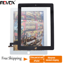 NEW Touch Screen Digitizer TP For Ipad 2 Glass Screen Original/Normal Front Glass Replacement dhl eub 5pcs new original for delta touch screen glass dop b05s100 15 18 page 5
