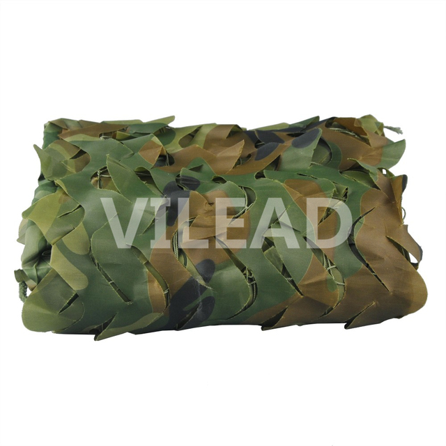 VILEAD 1.5M x 5M (5 x 16.5FT) Woodland Digital Camo Netting Military Army Camouflage Net Jungle Shelter for Hunting Camping Tent