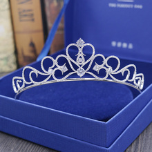 Top Quality European Style Fashion Jewelry Cubic Zirconia Tiaras Bride Crown Wedding Hair Accessories Factory Direct H-018