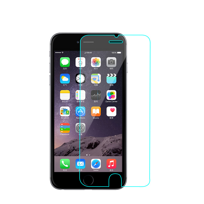 Para iphone 6 6S Protector de pantalla de vidrio templado de 4.7 - Accesorios y repuestos para celulares