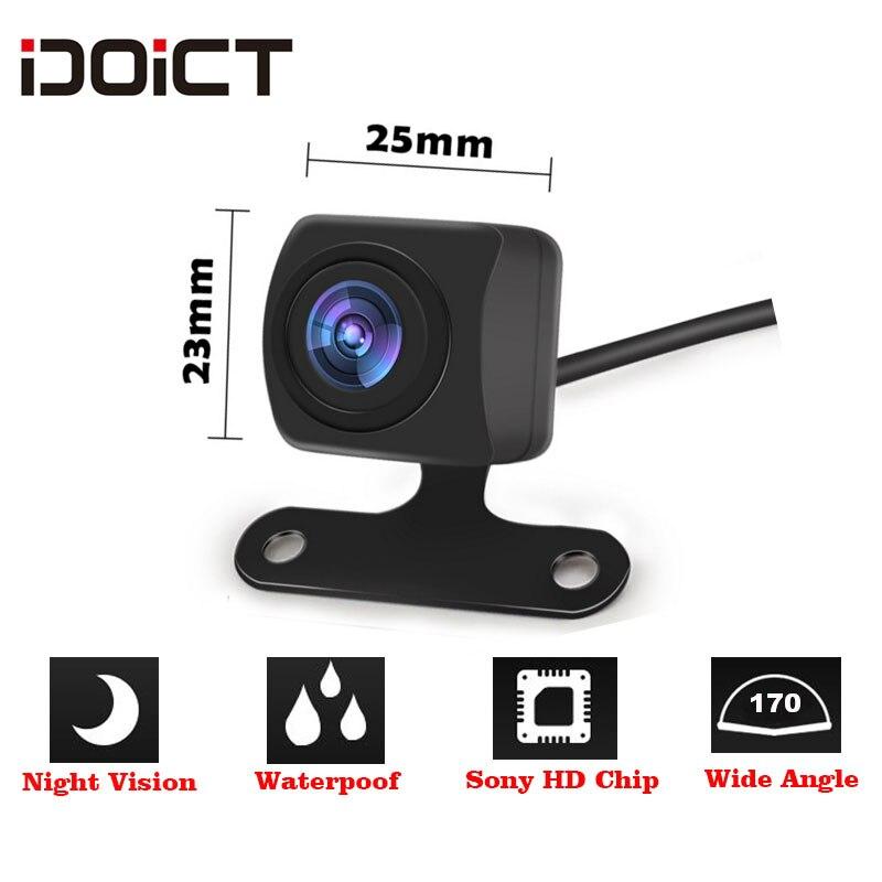 IDOICT водонепроницаемый HD170 градусов угол sony/MCCD 1409 чип Рыбий глаз объектив звездный свет ночное видение Автомобильная камера заднего вида