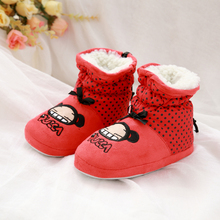 winter kids home shoes girls warm home shoes cotton padded shoes cartoon cotton home slippers House Indoor Cotton Padded shoes