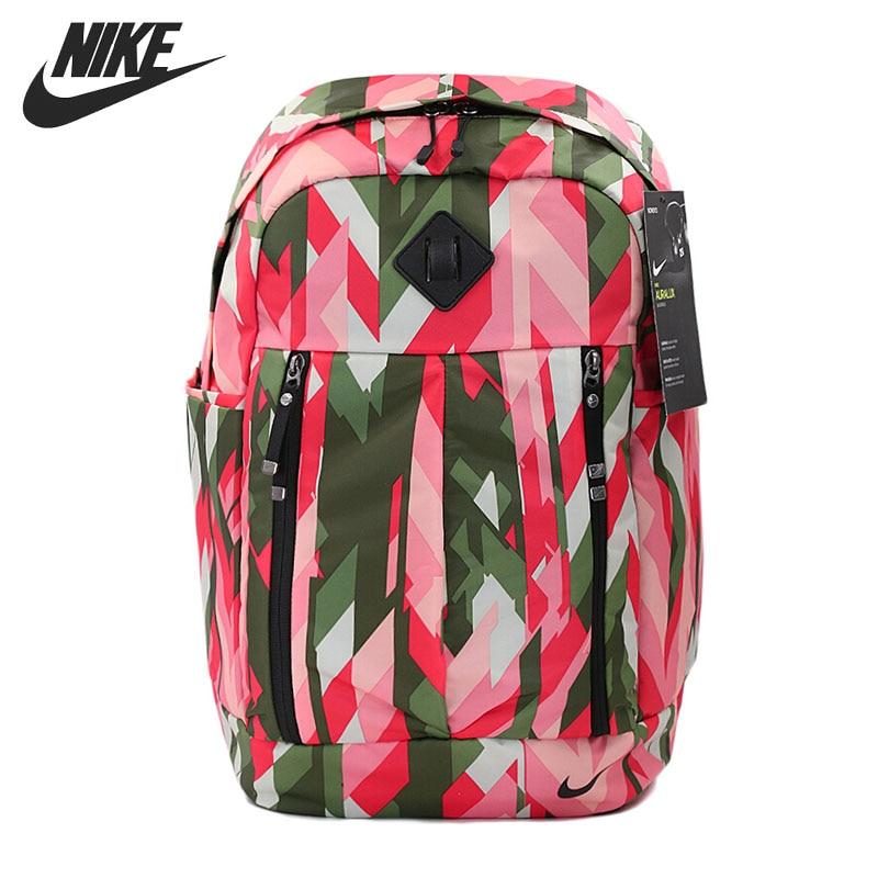 все цены на Original New Arrival 2017 NIKE AURA BKPK - PRINT Unisex  Backpacks Sports Bags онлайн