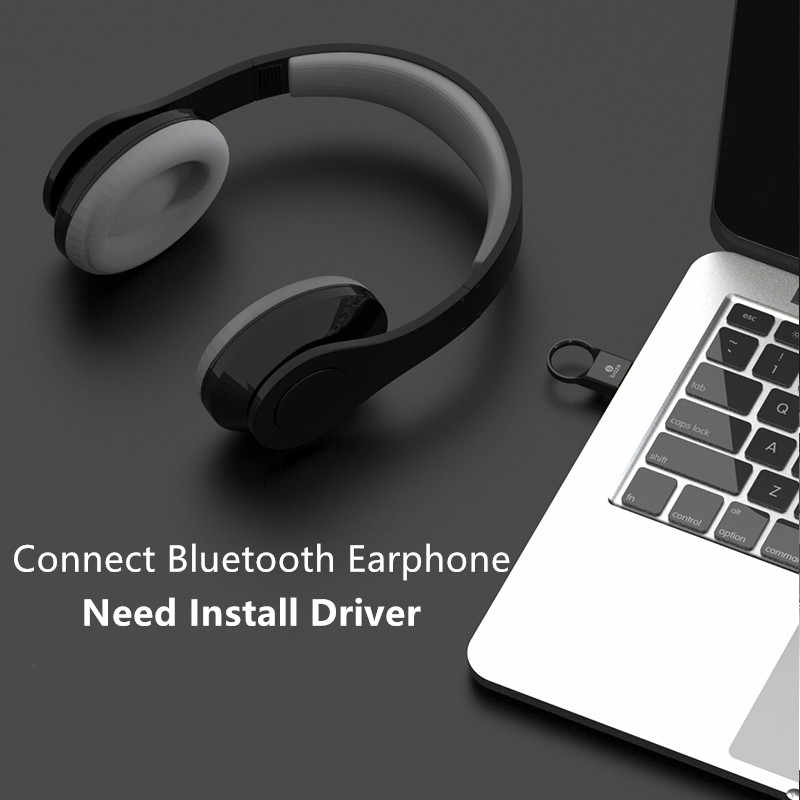 Biaze Bluetooth Adapter USB Dongle Laptop PC Wireless Mouse Bluetooth  Speaker 4 0 Music Receiver USB Bluetooth Adapter v4 0 CSR