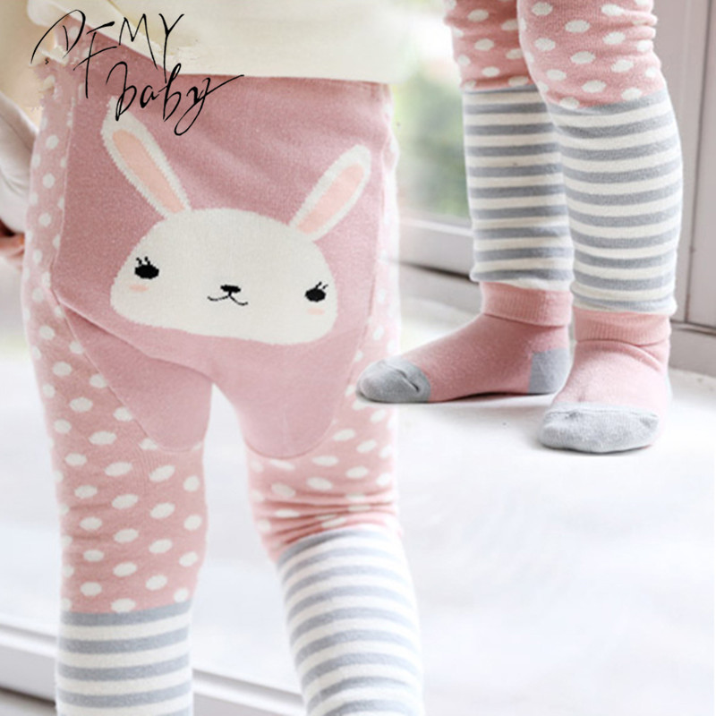 0 3T Girls Boys Baby Tights Short Cotton Cartoon Tights Kids Spring Pantyhose Baby Girl font