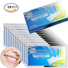 10pcs/5pairs Advanced Teeth Whitening Strips Professional Oral Hygiene