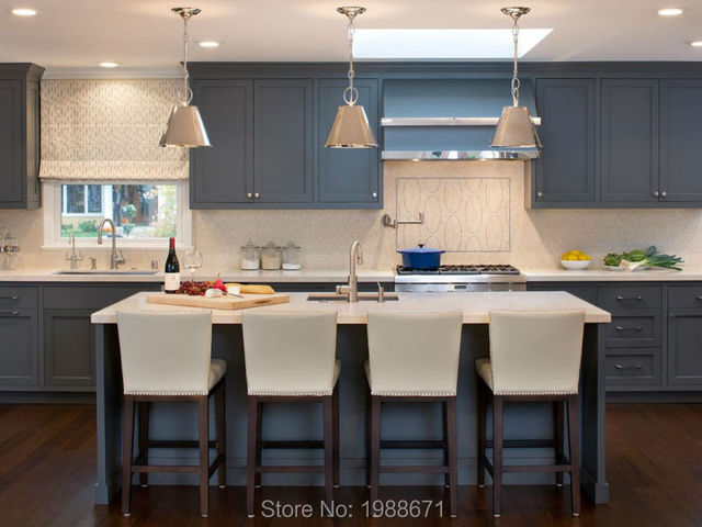 Kitchen Cabinets Ideas kitchen cabinet display sale : Aliexpress.com : Buy 2016 Style Blue Solid Wood Kitchen Cabinet ...