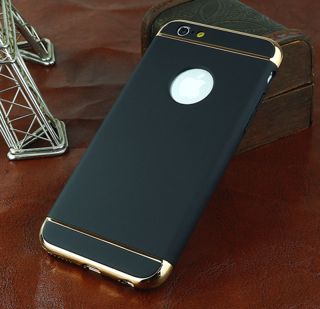 Ultra Thin Hard Plastic Cover 360 Degree Protection Back Cover For Iphone 6 6S 7 5S 5 S