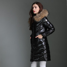 ENGAYI Women Loose Autumn Winter Thick 90% White Duck Warm Parkas Jacket Fashion Female Down Coat Overcoat Brand Jacket JM-1721