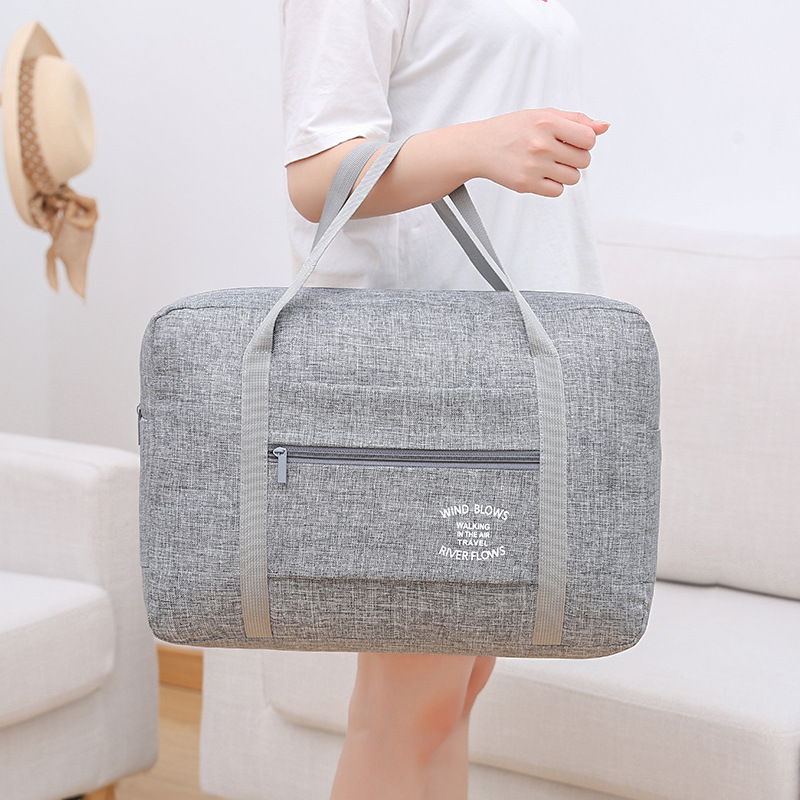 Luggage Duffel Totes Carry On Leisure Hand Bag Capacity Travel Bag Carry-on Bags Clothing Tote Foldable Hand Luggage Bag