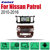 Auto DVD Player GPS Navigation For Nissan Patrol 2010~2016 Car Android Multimedia System Screen Radio Stereo