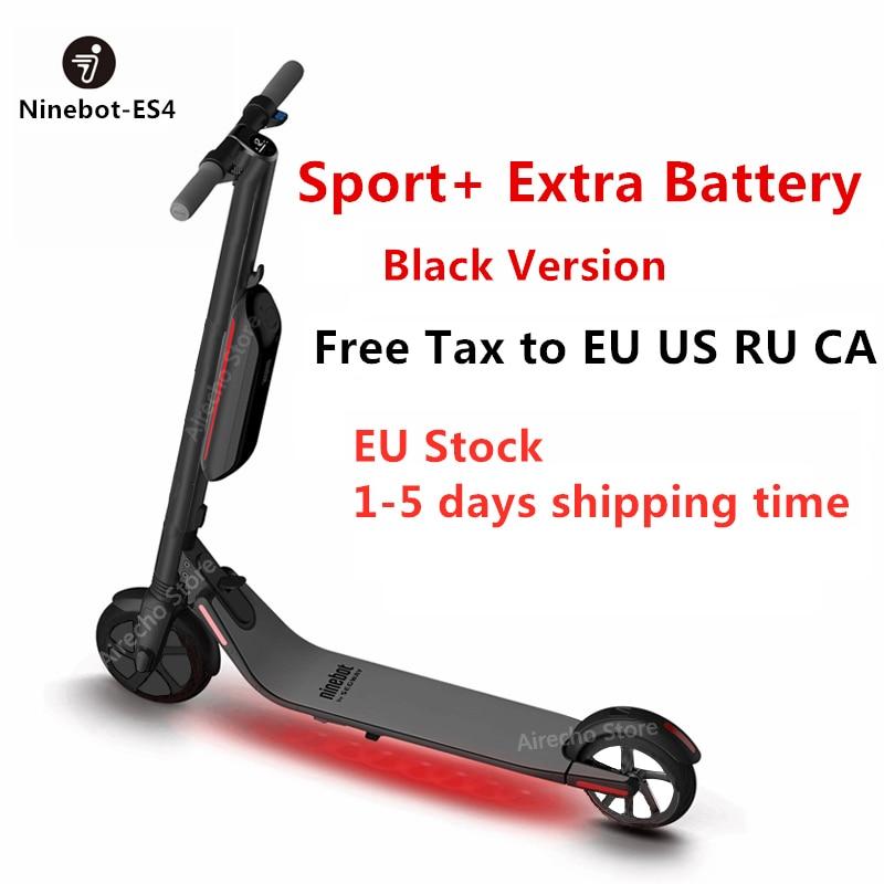 2019 Ninebot KickScooter ES4/ES2 di Smart Elettrica Scooter calcio pieghevole leggero hoverboard di skateboard Tavola Lunga EU Magazzino