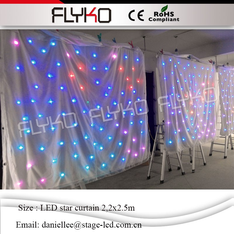 Free Shipping Pc Controller Led Soft Curtain Display Led Cortinas Led Video Curtain In Short Supply Commercial Lighting