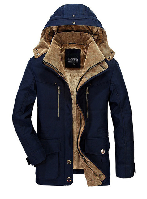 PEILOW Winter Jacket Middle...
