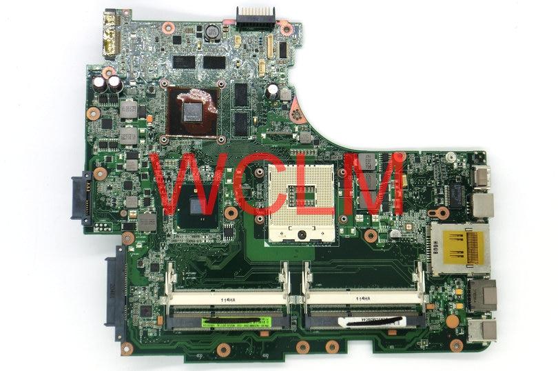 free shipping brand original laptop motherboard N53JQ N53JG MAIN BOARD REV 2.3 N11P-GS-A1 60-NZUMB1200-E02 100% Tested free shipping original k55v a55v k55vd motherboard main board rev 3 1 gt610m 2g n13m ge1 s a1 100