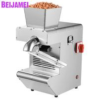 BEIJAMEI Commercial Automatic Oil Press Machine Stainless Steel sunflower seed Presser Expeller Extractor cold hot pressed oil