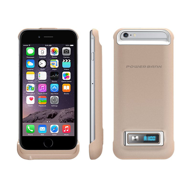LED Dispaly Battery Charger Case For iPhone 6 3200mah Portable External Mobile Phone Power Bank Backup Cover Case Dropshipping