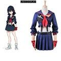 KILL la KILL Costume Ryuko Matoi Cosplay Dresses Women Navy Sailor Uniform Party School Uniform with Top Skirt