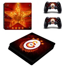 Galatasaray 1905 Football Team PS4 Slim Skin Sticker For Sony PlayStation 4 Console and Controllers Decal PS4 Slim Sticker Vinyl