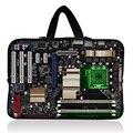 "Caliente madre bordo 15 "" Laptop Netbook Sleeve Case Bag bolsa para macbook Pro 15.4 pulgadas para 15.6 '' Dell Hp Lenovo Acer Asus"