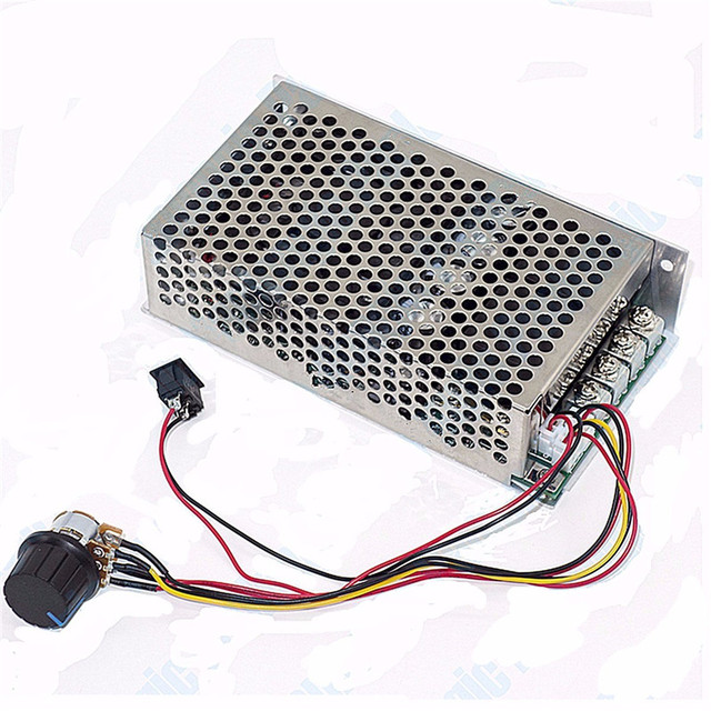 10 50v 100a 5000w Reversible Dc Motor Speed Controller Pwm Control