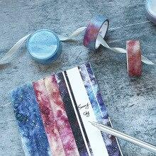 1,5 cm x 5m 32 unids/lote Mohamm artesanías decorativas japonesas y álbum de recortes diario Luna Masking Washi Tape Set suministros escolares